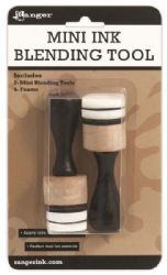 Ranger Inkssentials Tim Holtz, Mini Ink Blending Tool - 1 inch Round (2 Tools)